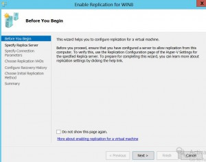 enable vm replication 3