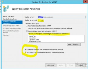 enable vm replication 5