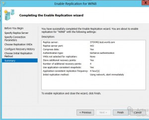 enable vm replication 9