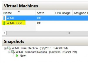 test vm failover